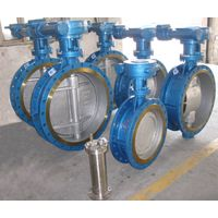 Eccentric metal seal butterfly valve, hard seal butterfly valve