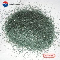 green silicon carbide abrasive grain