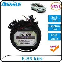 E85 kit 8cyl EV1 with Cold Start Asst. biofuel e85, ethanol car, bioethanol converter, bioethanol