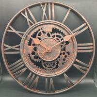 20 inch large antiqueplastic quartz wall clock with Roman digits