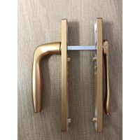Gold aluminum accessoriesdoorand windowhandlelock factory price