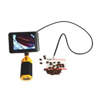 Small Snake Inspection Camera with Color LCD Monitor