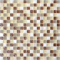 Natural glass tone mosaic tile AMD045