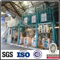Excellent design 60 TPD wheat flour milling machine with price thumbnail image