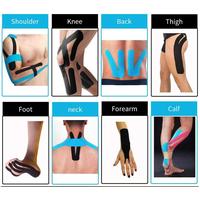 custom athletic elastic sports pre cut kinesiology tape thumbnail image
