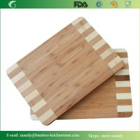 Thick Moso Bamboo Cutting Board with beautiful edges