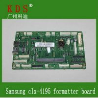 genuine printer logic board/main board for clx-4195fw laserjet printer formatter board for samsung,j