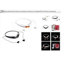 HV-800 Neckband Style Stereo Bluetooth Headset Earphone for iPhone/Samsung