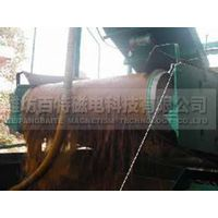 Iron sand used drum magnetic separator