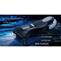Measurement of tire pressure flashlight thumbnail image
