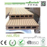 prefabricated home-house wood decking patio WPC flooring