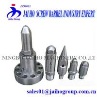 Screw and Barrel Fittings of A Plastic Machine