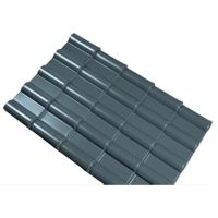 spanish style decorative synthetic resin roofing tile