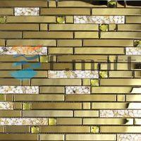 [E-MART MOSAIC]Free samples Supply Mosaic Wholesale pure hand painted mosaic tile EMM9002
