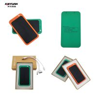 Marketing yellow green solar charger power bank for mobile phone
