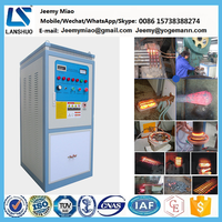 50KW IGBT Gear Shaft Induction Tempering Annealing Quenching Hardening Heat Treatment Machine