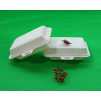Biodegradable Food Packaging Containers Cornstarch Disposable Fast Food Box