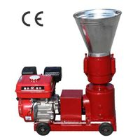 Gasoline engine powered feed pellet making machine with 1 year warranty