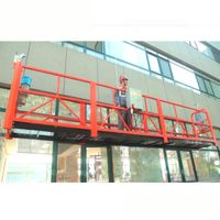 Building glass cleaning equipment, electric swing stage