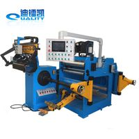 automatic aluminium foil winding machine for LT winding
