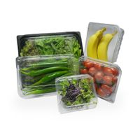 High Quality ViVifresh Bio-fresh food Tray - Cherry tomato S Size (PET, pp tray for food packaging) thumbnail image