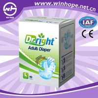 Winhope printed adult diaper China good manufacturer good care of you