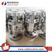 ASME Integral ball valve