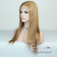 Cooper Wigs Mix Color Human Hair Wig Brazilian Virgin Remy Hair Lace Front Wigs Preplucked thumbnail image