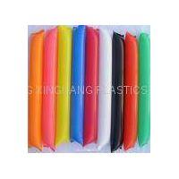 Inflatable plastic sticks