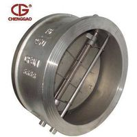 double disc wafer check valve
