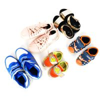 China Factory Mix Used Children Shoes Used Clothes and Shoes Used Shoes in Bales thumbnail image