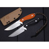 Quality D2 Hunting knife Fixed Blade G10 Handle Outdoor Knife Tactical Knife