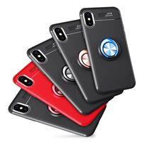 Ring Kickstand Mobile Phone X Case For Iphone 7 7Plus Case 8 Plus Case thumbnail image
