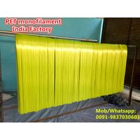 PET filaments / broom monofilaments indian manufacturer