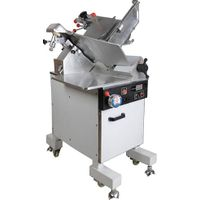 Variable speed automatic frozen and fresh meat slicer