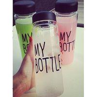 500ml tritan material Fashion sport my bottle lemon juice space cup Drinking Water bottles