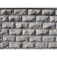 Granite Stone Mushroom Wall , Outdoor Decoration Wall Tiles