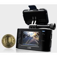 Koonlung N2 mini Dash Cam 1080P 2.1MP CMOS G-Sensor