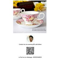 Bone China Cup Saucer Plate Sets Porcelain Wholesale Contact Now