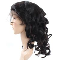 Brazilian Loose Wave Virgin Human Hair Full Lace Wig 1pc/Lot