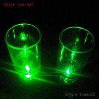 led flashing cup with light used in bar