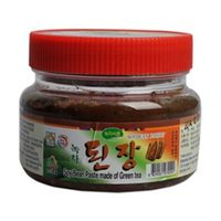 Boseong Young Ae Kim_Handmade Organic Soy Bean Paste made of Green tea 400g in South Korea