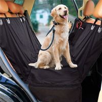 pet car seat protector with side flag
