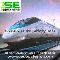 BS 6853 fire test to Plastic Products