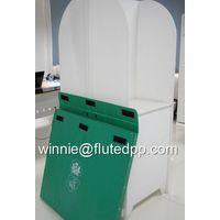 New printed board corrugated coroplast plastic signs 5mm corflut