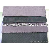 embossed cotton spandex sateen fabric