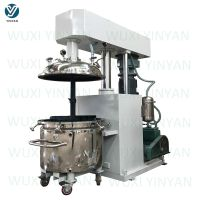 YINYAN factory selling epoxy glue making machine hydraulic lifting type vacuum mixer