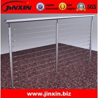 JINXIN Floor Mounted Stainless Steel Balcony Railing