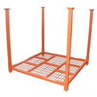 Warehouse  steel storage tyre stacking rack