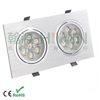 Super Bright SDJ614 2*7w 14W LED grille lamp emergency lamp led thumbnail image